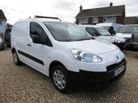 USED 2014 14 PEUGEOT PARTNER 1.6 HDI L1 625 75 BHP WITH ONLY 6,946 MILES
