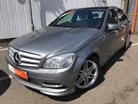 USED 2010 60 MERCEDES-BENZ C CLASS 2.1 C220 CDI BLUEEFFICIENCY SPORT 4d AUTO 170 BHP