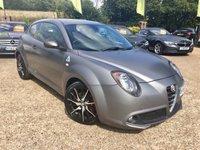 2014 ALFA ROMEO MITO 1.4 TB MULTIAIR QUADRIFOGLIO VERDE TCT 3d AUTO 170 BHP £7500.00