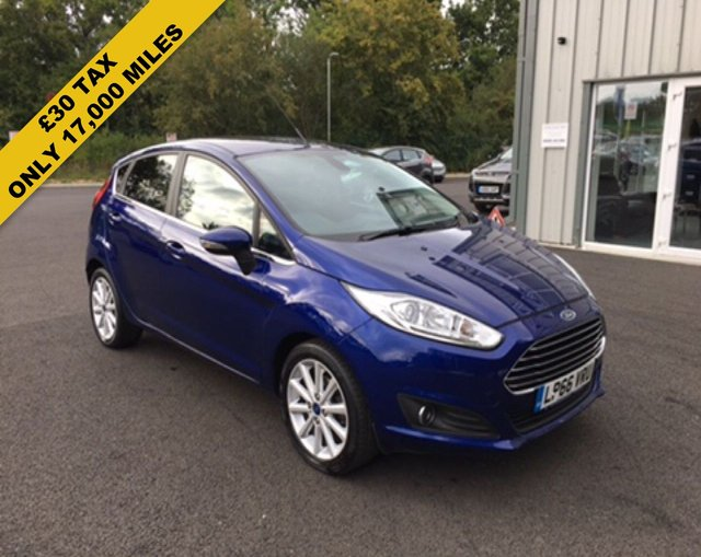 2016 66 FORD FIESTA 1.0 TITANIUM ECOBOOST AUTOMATIC (100PS)