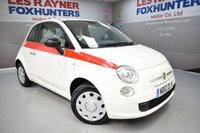 USED 2012 12 FIAT 500 1.2 POP 3d 69 BHP Great MPG, Cheap Tax, Low miles