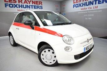 2012 FIAT 500 1.2 POP 3d 69 BHP £3499.00
