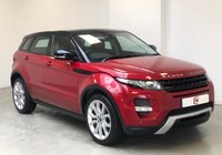 USED 2012 12 LAND ROVER RANGE ROVER EVOQUE 2.2 SD4 DYNAMIC LUX 5d AUTO 190 BHP TOP MODEL + PAN ROOF + SAT NAV + 20 INCH ALLOYS + PART EX WELCOME