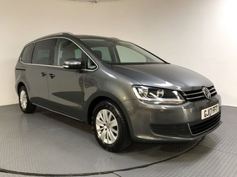 2017 VOLKSWAGEN SHARAN 2.0 SE NAV TDI BLUEMOTION TECHNOLOGY DSG 5d AUTO 148 BHP £18800.00
