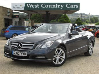 2012 MERCEDES-BENZ E CLASS 2.1 E220 CDI BLUEEFFICIENCY SE 2d 170 BHP £12000.00