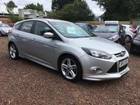 USED 2013 13 FORD FOCUS 1.0 ZETEC S S/S 5d 124 BHP FULL ZETEC S BODYKIT STUNNING EXAMPLE WITH MANY EXTRAS AND FULL SERVICE HISTORY