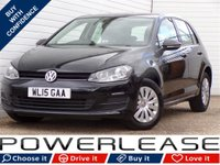 USED 2015 15 VOLKSWAGEN GOLF 1.6 S TDI BLUEMOTION TECHNOLOGY 5d 90 BHP FREE TAX FULL HISTORY 1 OWNER