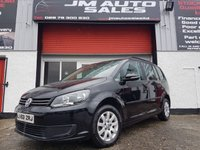 USED 2013 63 VOLKSWAGEN TOURAN 1.6 S TDI BLUEMOTION TECHNOLOGY 5d 103 BHP