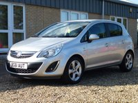 USED 2011 61 VAUXHALL CORSA 1.2 SXI AC 5d 83 BHP www.suffolkcarcentre.co.uk - Located at Reydon