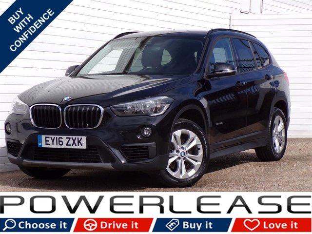 USED 2016 16 BMW X1 2.0 SDRIVE18D SE 5d 148 BHP SAT NAV P/SENSORS 20 POUND TAX