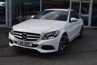 USED 2016 16 MERCEDES-BENZ C CLASS 2.0 C200 SE EXECUTIVE 4d 184 BHP FINANCE TODAY WITH NO DEPOSIT