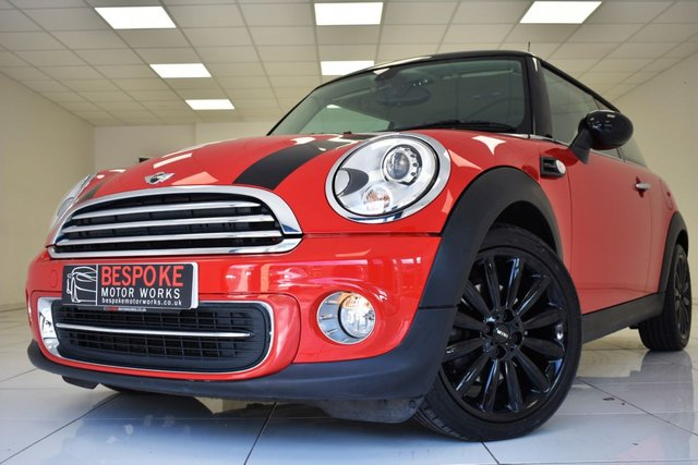 2010 60 MINI HATCH COOPER 1.6 3 DOOR