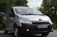 USED 2016 65 TOYOTA PROACE 1.6 L2H1 HDI 1200 P/V 1d 89 BHP