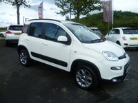 USED 2012 62 FIAT PANDA 0.9 TWINAIR 5d 85 BHP FULL DEALER SERVICE HISTORY , 4 X 4 , HALF LEATHER , AIR CON, PRIVACY GLASS