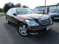 USED 2005 05 LEXUS LS 4.3 430 4d AUTO 279 BHP Full LEXUS Service History & Cambelt done in May 2014 @ 91k