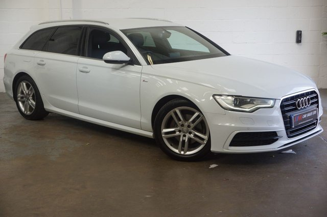 2012 04 AUDI A6 2.0 AVANT TDI S LINE 5d AUTO 175 BHP FULL LEATHERS SOLD TO LIAM FROM DEVON