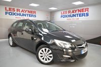 USED 2015 64 VAUXHALL ASTRA 1.6 DESIGN CDTI ECOFLEX S/S 5d 108 BHP Free road tax, Cruise control, Bluetooth, 1 Owner from new