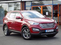 USED 2015 15 HYUNDAI SANTA FE 2.2 CRDi Premium 5dr **Sat Nav + Heated Leather**