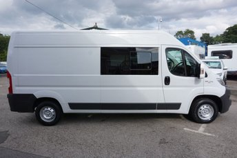 2016 FIAT DUCATO 35 2.3 130 BHP  MULTIJET II HIGH ROOF CREWCAB ( 6 SEATER & NO VAT ! ) £11989.00