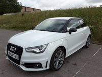 USED 2015 64 AUDI A1 1.6 TDI S LINE STYLE EDITION 3d 103 BHP PART LEATHER | DAB | ALLOYS |