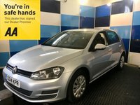 USED 2014 14 VOLKSWAGEN GOLF 1.2 S TSI BLUEMOTION TECHNOLOGY 5d 84 BHP A pristine example of this very highly regarded family 5 door hatchback finished in umarked metalic reflex silver,this car comes equiped with elec windows /mirrors, central remote locking, stop start facility.air conditioning ,hill hold,dab cd radio with media interface,plus all the usual VW refinements. This car looks and drives like new ,with zero rated road fund and a combined ecconomy of 57.6 mpg,this is deffinitely one to consider and one to view .