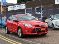 USED 2013 13 FORD FOCUS 1.0 ZETEC 5d FULL FORD SERVICE HISTORY ~ BLUETOOTH ~ DAB ~ MEDIA ~ ONE FORMER KEEPER