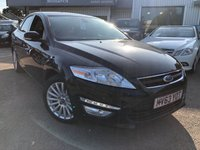 USED 2013 63 FORD MONDEO 2.0 ZETEC BUSINESS EDITION TDCI 5d 138 BHP
