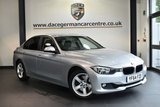 """USED 2014 64 BMW 3 SERIES 2.0 325D SE 4DR 215 BHP full bmw service history * NO ADMIN FEES * FINISHED IN STUNNING GLACIER METALLIC SILVER WITH FULL LEATEHR INTERIOR + FULL SERVICE HISTORY + SATELLITE NAVIGATION + BLUETOOTH + HEATED SEATS + DAB RADIO + CRUISE CONTROL + LIGHT PACKAGE + AUTO AIR CON + RAIN SENSORS + PARKING SENSORS + 17"""" ALLOY WHEELS"""