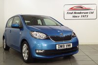 USED 2018 18 SKODA CITIGO 1.0 SE L GREENTECH MPI 5d 59 BHP Stunning Skoda Citigo SE L in metallic Crystal Blue. One owner from new;fantastic fuel economy and low insurance group and look at that price. . We offer ZERO deposit finance at competitive rates and we welcome your part exchange.To arrange a viewing or test drive simply get in touch and one of our experienced sales team will be pleased to assist.