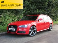USED 2014 14 AUDI A4 1.8 AVANT TFSI BLACK EDITION 5d 168 BHP