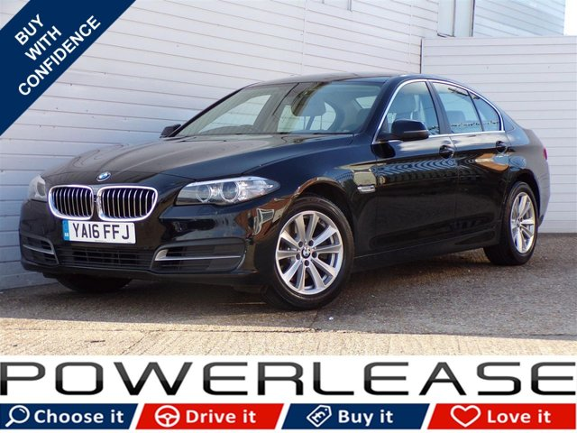 USED 2016 16 BMW 5 SERIES 2.0 520D SE 4d AUTO 188 BHP 20POUNDTAX HEATED LEATHER NAV