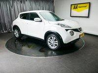 USED 2014 64 NISSAN JUKE 1.5 ACENTA DCI 5d 110 BHP £0 DEPOSIT FINANCE AVAILABLE, AIR CONDITIONING, AUX INPUT, BLUETOOTH CONNECTIVITY, CLIMATE CONTROL, CRUISE CONTROL, DAYTIME RUNNING LIGHTS, DRIVE PERFORMANCE CONTROL, START/STOP SYSTEM, STEERING WHEEL CONTROLS, TOUCH SCREEN HEAD UNIT, TRIP COMPUTER, USB INPUT