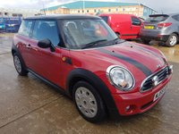 USED 2009 59 MINI HATCH FIRST 1.4 FIRST 3d MOT SERVICE WARRANTY