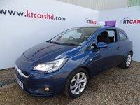 2015 VAUXHALL CORSA 1.2 ENERGY AC CDTI ECOFLEX S/S 3d 74 BHP £5495.00