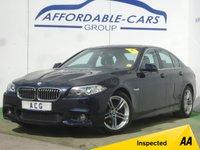 USED 2014 14 BMW 5 SERIES 2.0 520D M SPORT 4d 181 BHP