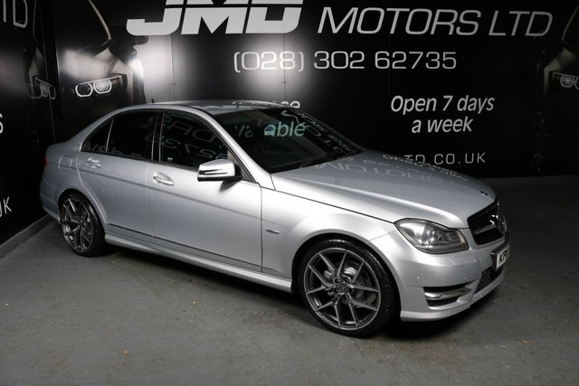 2011 11 MERCEDES-BENZ C CLASS C220 CDI BLUEEFFICIENCY SPORT NIGHT EDITION STYLE AUTO 168 BHP (FINANCE AND WARRANTY)