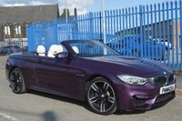 USED 2016 66 BMW M4 3.0 M4 2d AUTO 426 BHP CONVERTIBLE
