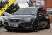 USED 2007 57 FORD FOCUS 2.5 ST-3 3d 225 BHP CAMBELT AND WATER PUMP CHANGED SEPTEMBER 2018, FULL SERVICE HISTORY