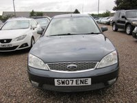 USED 2007 07 FORD MONDEO 1.8 EDGE 16V 5d 124 BHP 1 prev owner mot 28 04 2020