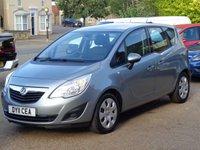 2011 VAUXHALL MERIVA 1.4 EXCLUSIV 5d 138 BHP £3100.00
