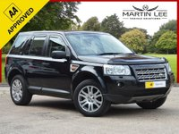 USED 2007 LAND ROVER FREELANDER 2.2 TD4 HSE 5d AUTO 159 BHP STUNNING 4X4 WITH COLOUR SAT NAV FULL LEATHER