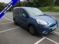 USED 2013 63 PEUGEOT PARTNER 1.6 HDI TEPEE S 5d 92 BHP 5 SEATS + WHEELCHAIR ACCESSIBLE VEHICLE