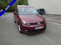 USED 2014 63 VOLKSWAGEN CADDY 1.6 C20 LIFE TDI 5d AUTO 101 BHP VW Caddy AUTO