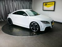 USED 2013 63 AUDI TT 2.0 TDI QUATTRO BLACK EDITION 2d 168 BHP £0 DEPOSIT FINANCE AVAILABLE, AIR CONDITIONING, AUDI NAVIGATION PLUS, BOSE SOUND SYSTEM, CLIMATE CONTROL, CRUISE CONTROL, FULL S LINE LEATHER UPHOLSTERY, HEATED SEATS, REAR PARKING SENSORS, STEERING WHEEL CONTROLS, TRIP COMPUTER
