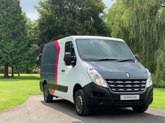 USED 2013 63 RENAULT MASTER 2.3 SL28 DCI L/R 1d 100 BHP NO VAT wrapped and ready for your company details NO VAT