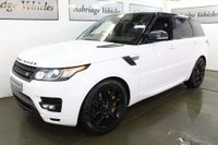 USED 2016 16 LAND ROVER RANGE ROVER SPORT 3.0 SD V6 HSE Dynamic 4X4 (s/s) 5dr SLIDING PAN ROOF + BLACK PACK!