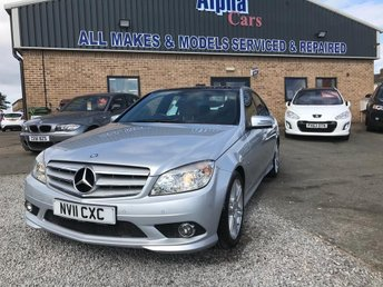 2011 MERCEDES-BENZ C CLASS 2.1 C250 CDI BlueEFFICIENCY Sport 4dr £9995.00