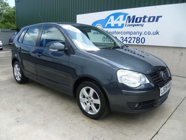 2009 09 VOLKSWAGEN POLO 1.4 Match 5dr