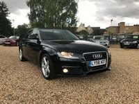 USED 2009 58 AUDI A4 2.0 TDI SE Multitronic 4dr Heated Leather Seats