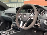 USED 2014 64 MERCEDES-BENZ C CLASS 6.3 C63 AMG Edition 507 MCT 2dr 507 EDITION/PAN ROOF/FMBSH